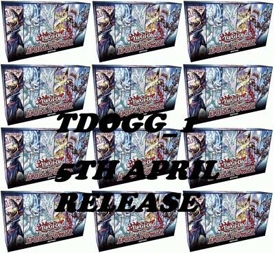 Pre-Order: Case of Yugioh! DUEL POWER (12 boxes) Release Date: April 5 pre order