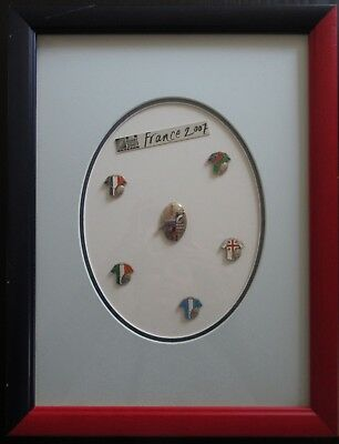 Pin's Rugby World Cup 2007 France Irb Cadre 6 Pins