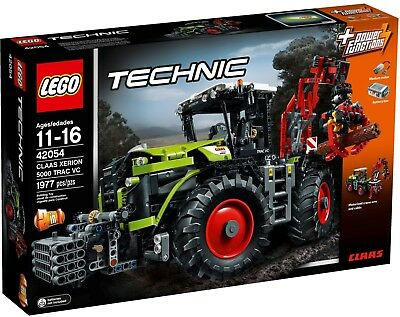 Lego Technic 42054 Claas Xerion 5000 Trac VC 1977pcs Sealed Box Never Opened