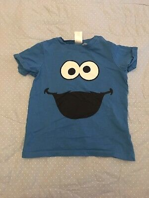Baby Boy Cookie Monster T-shirt, Age 9-12 Months, H&M
