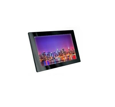 "Espositore display video LCD TFT 13"" nero fiere ufficio supermercato mostre bar"