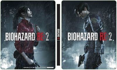Resident Evil RE: 2 Steel book only BIOHAZARD GEO LIMITED PS 4 Japan Pre order
