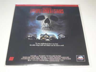LaserDisc ~ The People Under the Stairs ~ Wes Craven ~ NTSC ~ MCA Universal