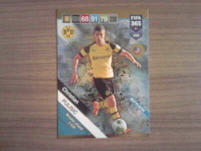 Panini Adrenalyn Xl Fifa 365 2019 Tcg Power-Up Key Player Christian Pulisic 322