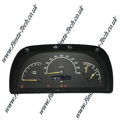 Mercedes Benz Vito FULL Instrument Cluster Speedometer Repair Service 1997-04