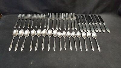 Prelude by International Silver Sterling Flatware 40 Pcs Large dinner knife fork