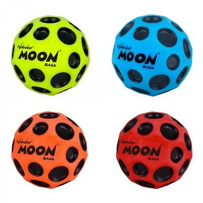 Waboba Moon Bouncing Ball Fun Outdoor Play Garden One Supplied Colours May Vary