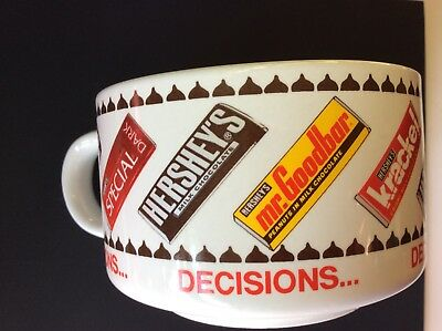 Hersheys Soup Mug Hershey Bars On Mug Large Coffee Mug