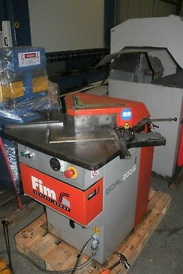 FIM Sheet Metal Hydraulic Corner Notcher 200mm x 6mm