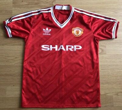 Manchester United 1986/88,Home,Adidas,Small Football Shirt..Great Condition..