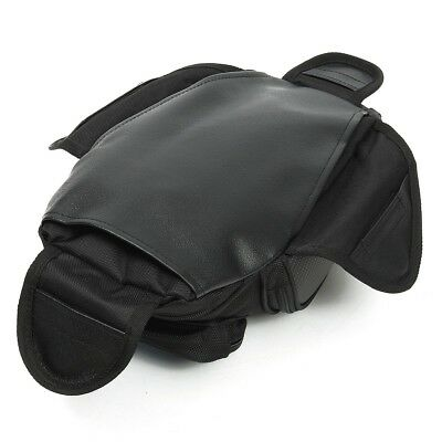 Motorcycle Oil Fuel Tank Bag Magnetic Saddle Bag with Bigger Phone Window