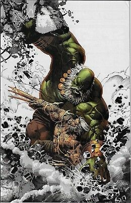 Old Man Logan #25 Deodato Color Sketch Virgin Variant Cover! Limited To 1000!