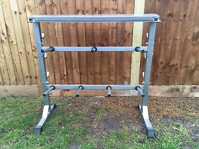 Universal Dumbbel Weight Rack Stand By Physionics