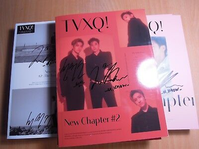 TVXQ - New Chapter #2 The Truth of Love (8th promo) with Autographed (Signed)