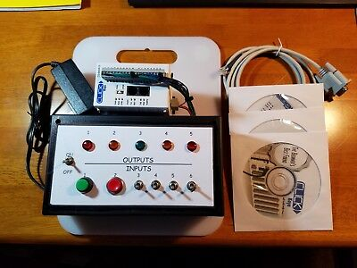 Automation Direct KOYO CLICK PLC Trainer with Lots of Extras