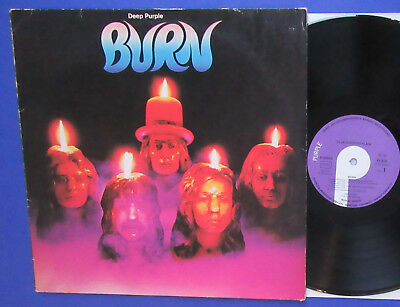 DEEP PURPLE, Burn, EMI Vinyl LP 1974, Blackmore Lord Paice Hughes