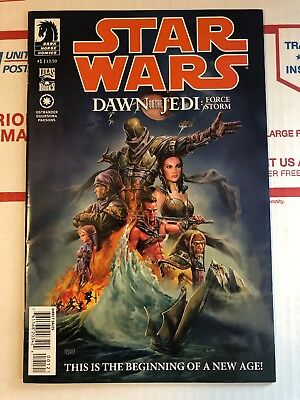 Star Wars Dawn of the Jedi Force Storm #1. HTF Flores Variant! RARE!