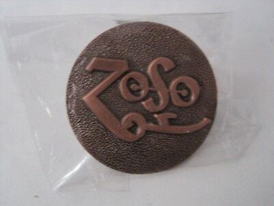 Led Zeppelin metal badges pins ZOSO Robert Plant Jimmy Page NWOT