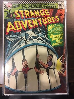 Strange Adventures #187 Fine+ FIRST APPEARANCE ENCHANTRESS