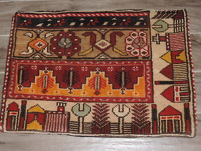 """19"""" x 27"""" Handmade Middle Eastern Wool Pillow Case"""