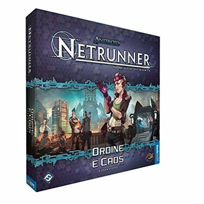 Giochi Uniti Games USAOrder And Chaos, Expansion for Android Netrunner