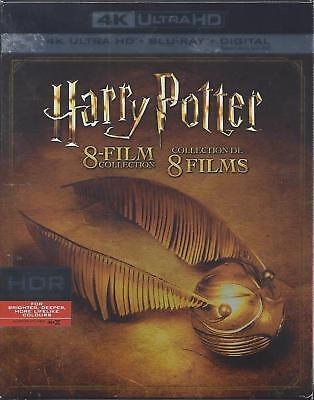 Harry Potter 8 Film Collection (4K Ultra Hd/bluray)(16 Disc Set)(Used)
