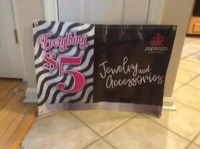 """Paparazzi Jewelry Consultant Banner -30""""w x 20"""" h"""