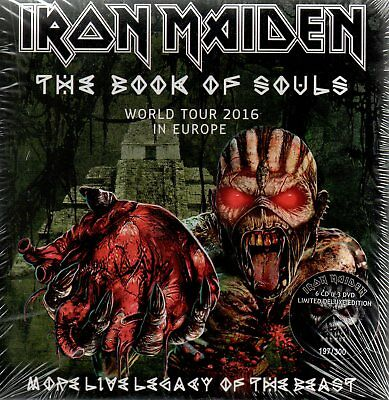 Iron Maiden - More Live Legacy Of The Beast  Box-Set 6Cd + 3Dvd N°192/300 Sealed