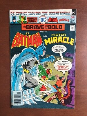 Brave and the Bold #128 (1976) 7.5 VF DC Key Issue Comic Batman Mister Miracle