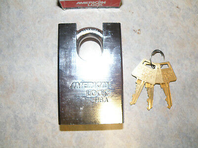 American Lock A748 Extreme Security Padlock Motorcycle/Bike Master/Abus USA
