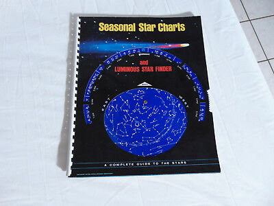 1972 Seasonal Star Charts and Luminous Star Finder  ISBN: 0833118021