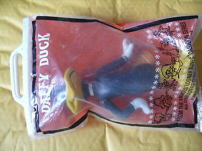 """1968 R Dakin Looney Tunes Posable Daffy Duck 2204  8"""" Tall  New with Tag Package"""