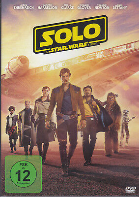 DVD Solo A Star Wars Story