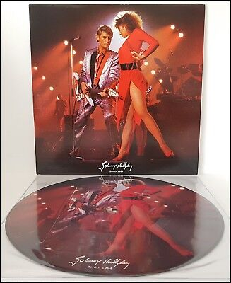 Johnny Hallyday 33T Picture - Zénith 84 - Rare
