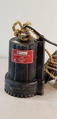 Utilitech 0309016 0.16-HP Thermoplastic Submersible Utility Pump