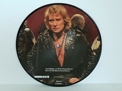 Johnny Hallyday Picture - Ultra Rare 4 Titres Numerote Un Homme Tout Simplement