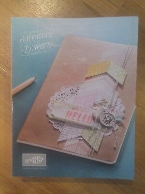 2 x Stampin Up! catalogue idea book 2013 autumn /winter and 25th anniversary