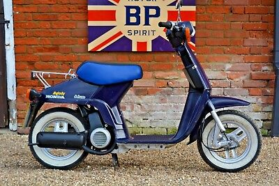 Rare 1983 Honda Melody Deluxe Ns50Msb Moped Collectors Condition Long Mot N/res