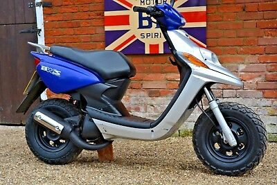 YAMAHA CW 50 BWs BWIZZ SCOOTER MOPED S/H MOT UNRESTRICTED 70cc 50MPH+ NO RESERVE