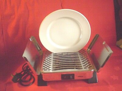 Princes Chromed Plate Warmer..12 Plate Capacity