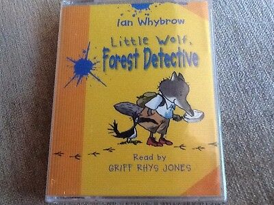 LITTLE WOLF, FOREST DETECTIVE - Ian Whybrow (Cassette Audio Book) New And Sealed