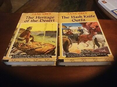 Zane Grey Great Western Edition Books 2 books