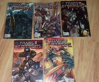 Transformers Target: 2006 IDW issues 1-5