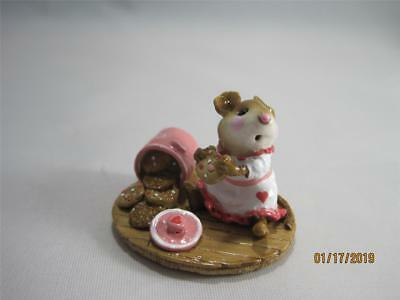 Wee Forest Folk M-209 Caught in the Act Limited Edition Valentine WFF