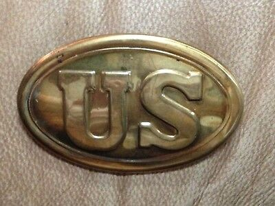 Belt Plate Breast Plate Replica Reproduction Us Buckle