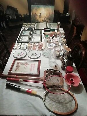 Job lot of various collectable items, some vintage and antique