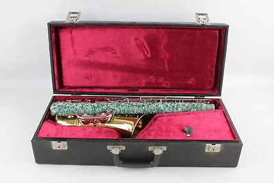 Vintage B&S Sonora SAXOPHONE w/ Case & Carrying Strap
