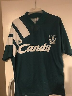 Very Rare Liverpool Away Top 1990