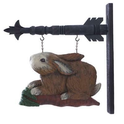 Rabbit on a Carrot Arrow Replacement Sign