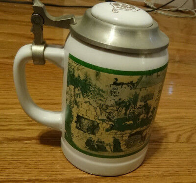 """Heilman's 1995 Old Style Limited Edition Stein Series """"Old Style Lager"""""""